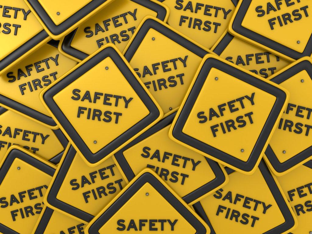 amusement park safety signage